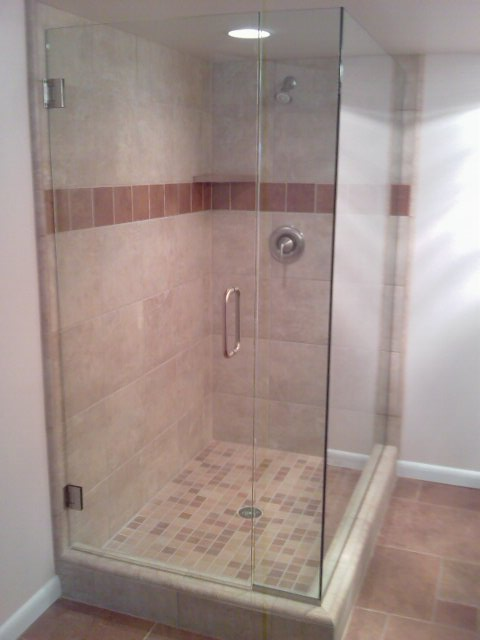 Custom shower doors and mirrors house of glass
