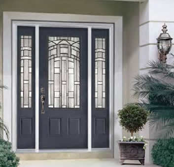 Entry doors - Painting a steel exterior door model ...